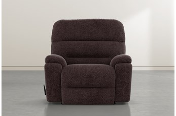 Judson Coffee Rocker Recliner