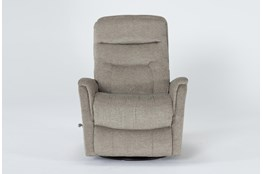 Gannon Heather Swivel Glider Recliner