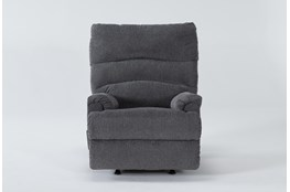 Man Fort Graphite Rocker Recliner