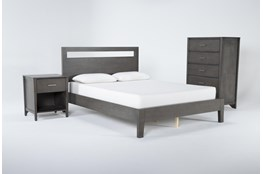 Gaven Grey Queen 3 Piece Bedroom Set