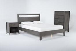 Gaven Grey California King 3 Piece Bedroom Set