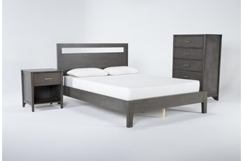 Gaven Grey California King 3 Piece Bedroom Set