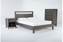 Gaven Grey Eastern King 3 Piece Bedroom Set
