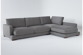 "Lindsey 2 Piece 130"" Sectional With Right Arm Facing Chaise"