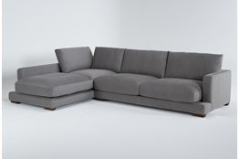 "Lindsey 2 Piece 130"" Sectional With Left Arm Facing Chaise"