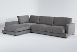 """Lindsey 2 Piece 130"""" Sectional With Left Arm Facing Chaise"""
