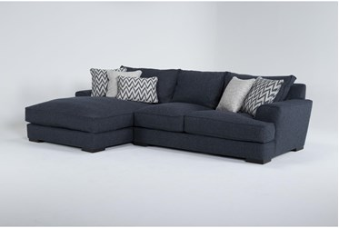 """Monrowe 2 Peice 132"""" Sectional With Left Arm Facing Chaise"""