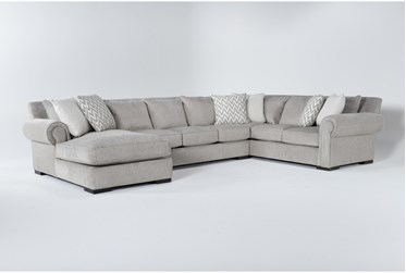 """Wythe 3 Piece 105"""" Sectional With Left Arm Facing Chaise"""