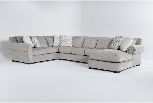 """Wythe 3 Piece 105"""" Sectional With Right Arm Facing Chaise - 360"""