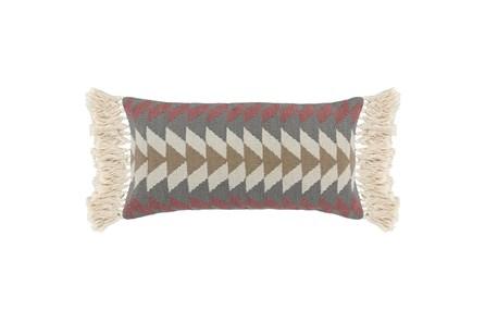 Accent Pillow - Kt Kade Mauve Pink 14X26 - Main