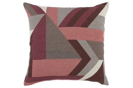 Accent Pillow - Highland Mauve Pink 20X20 - Main