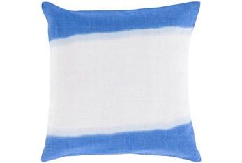 Accent Pillow - Double Dip Blue 18X18