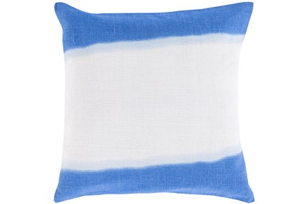 Accent Pillow - Double Dip Blue 18X18 - Main