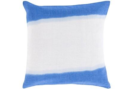 Accent Pillow - Double Dip Blue 18X18 - Main