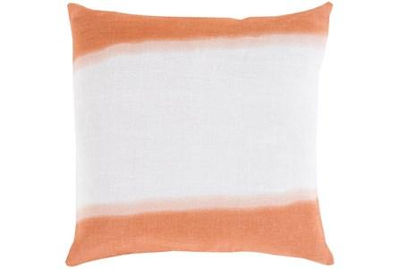 Accent Pillow - Double Dip Orange 18X18 - Main