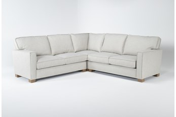 "Magnolia Home Dweller Homespun Sterling 3 Piece 104"" Sectional Bjg"