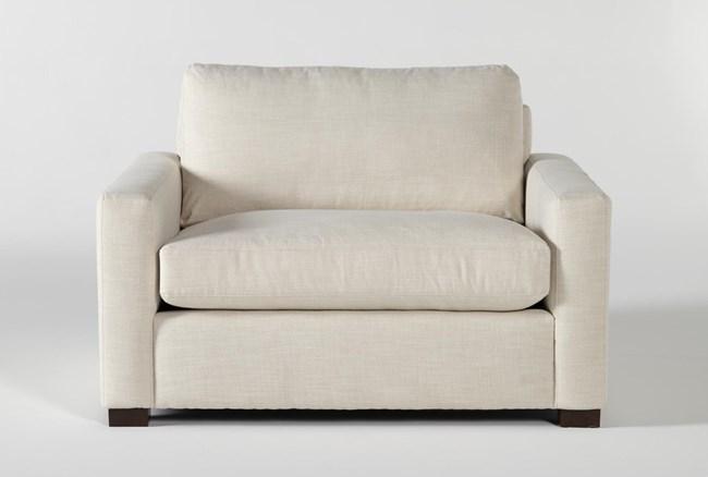 Magnolia Home Walden Homespun Cream Chair By Joanna Gaines - 360