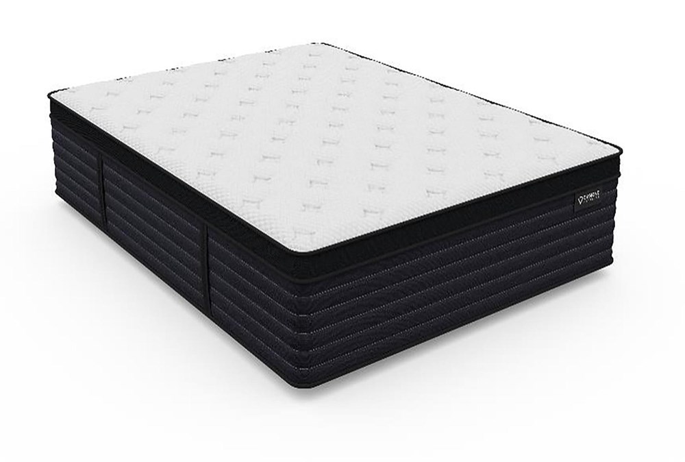 Diamond Aspen Cool Latex Hybrid Plush Queen Mattress