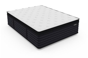 Aspen Cool Latex Hybrid Plush Queen Mattress