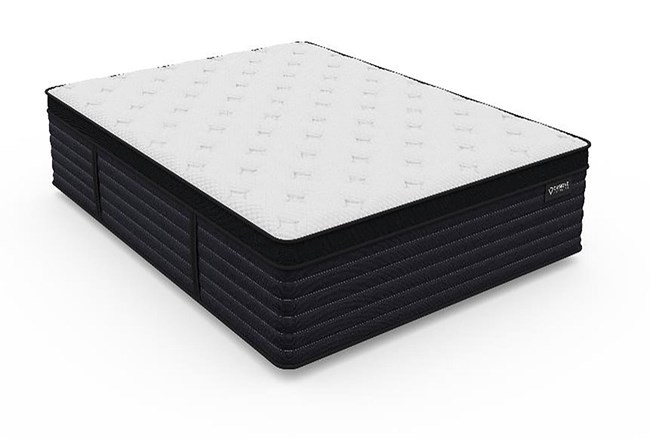 Diamond Aspen Cool Latex Hybrid Plush Queen Mattress - 360