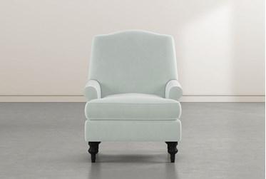 Jacqueline VI Teal Accent Chair