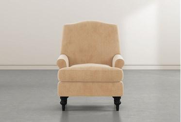 Jacqueline VI Tan Accent Chair