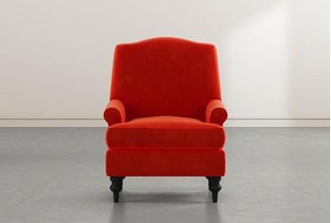 Jacqueline VI Vermillion Accent Chair