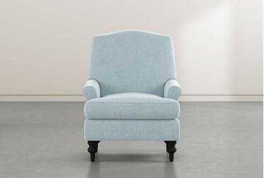 Jacqueline VI Blue Accent Chair