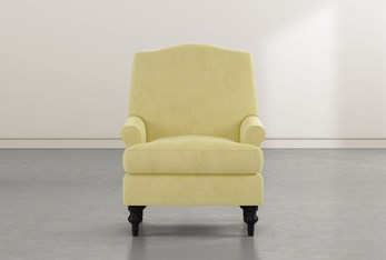 Jacqueline VI Yellow Accent Chair