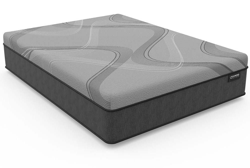 Diamond Carbon Ice Hybrid Plush Twin Extra Long Mattress
