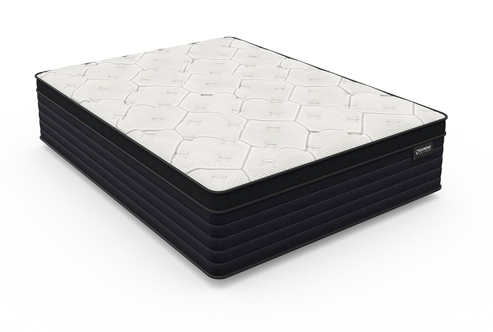 Diamond Everest Cool Copper Hybrid Eurotop Plush Eastern King Mattress