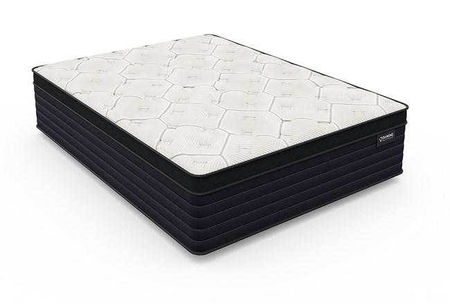 Diamond Everest Cool Copper Hybrid Eurotop Plush Eastern King Mattress - 360