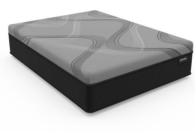 Diamond Onyx Ice Medium Twin Extra Long Mattress - 360