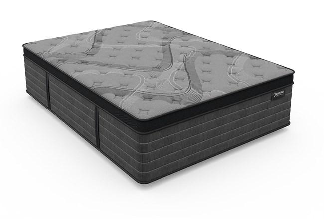 Diamond Graphene Cool Hybrid Plush Full Mattress - 360