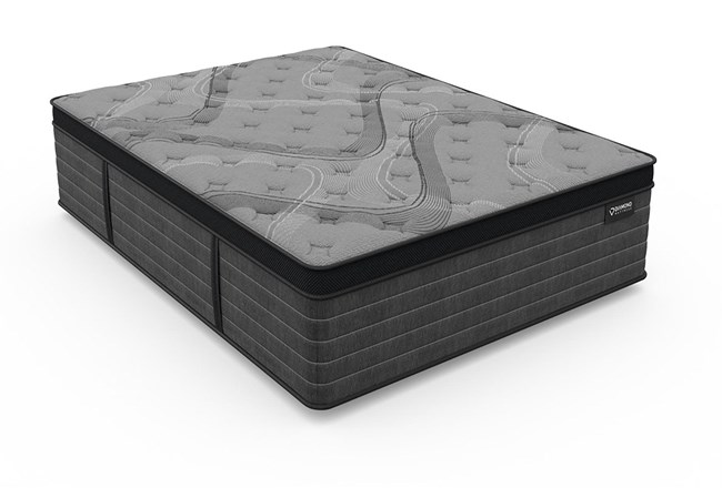 Diamond Graphene Cool Hybrid Plush Queen Mattress - 360
