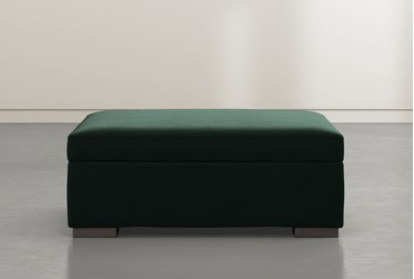 Norah Emerald Accent Storage Ottoman By Nate Berkus And Jeremiah Brent