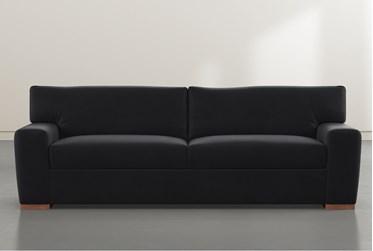 """Beckett Black 87"""" Sofa By Nate Berkus and Jeremiah Brent"""