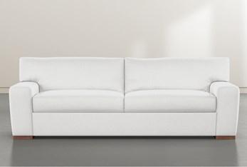 """Beckett White 87"""" Sofa By Nate Berkus and Jeremiah Brent"""