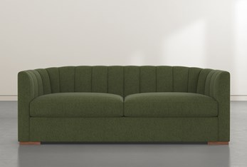 """Audrey Green 87"""" Sofa By Nate Berkus And Jeremiah Brent"""