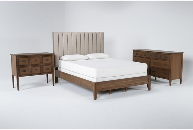 Magnolia Home Monroe Queen 3 Piece Bedroom Set By Joanna Gaines - 360