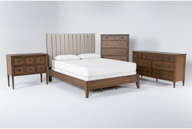 Magnolia Home Monroe Eastern King 4 Piece Bedroom Set By Joanna Gaines - 360