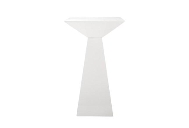 "Pillar High Gloss White 24"" Bar Table - 360"