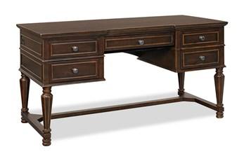 Wyatt Half Pedestal Desk
