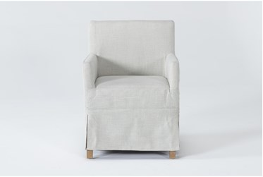 Magnolia Home Colette Slipcover Low Back Dining Chair By Joanna Gaines