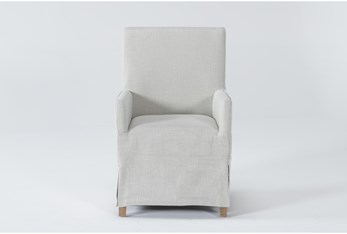Magnolia Home Colette Slipcover High Back Dining Chair By Joanna Gaines