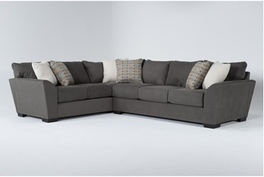 """Axton 2 Piece 101"""" Sectional With Right Arm Facing Sofa"""