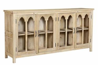 Arched 4 Door Cabinet