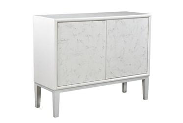 2 Door Light Marble Cabinet