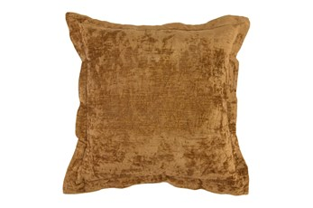 Accent Pillow - Gold Textured Velvet 22X22