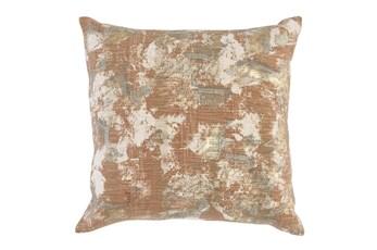 Accent Pillow - Mottled Copper 22X22